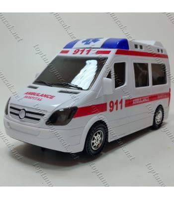 Toptan 3D ışıklı oyuncak ambulans