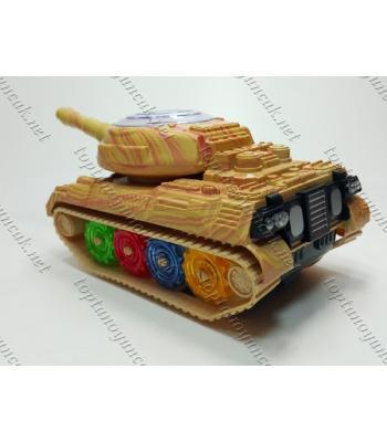 Toptan ışıklı oyuncak tank pilli TOY1561