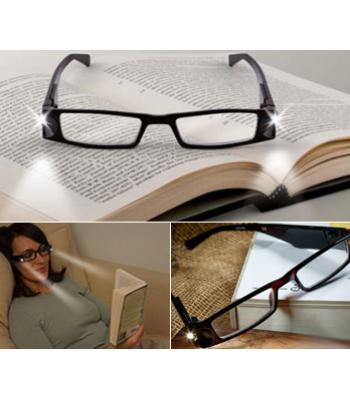 Toptan ışıklı okuma gözlüğü