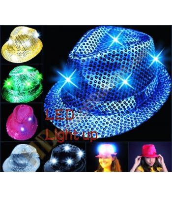 Işıklı parti şapkası