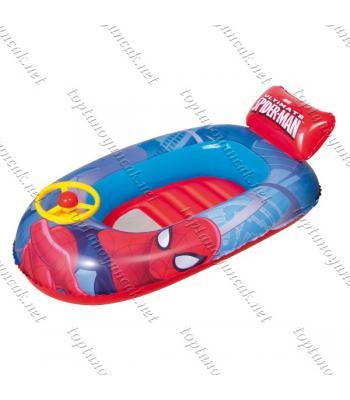 Toptan örümcek adam direksiyonlu şişme bot