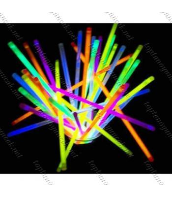 Toptan Glow Stick Fosforlu Kırılan Çubuk 100 adet