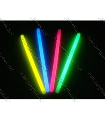 Toptan Glow Stick 20cm kalın Fosforlu Kırılan Çubuk (10 Adet)