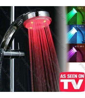 Toptan Isıya Duyarlı 4 Renk Değiştiren Duş Başlığı