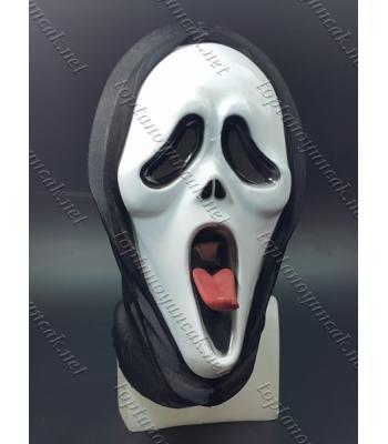 Toptan çığlık maske şaka malzemesi