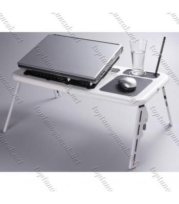 Toptan Portatif Katlanabilir Soğutuculu Laptop Sehpası E-Table