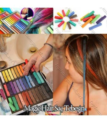 Toptan Magic Hair Saç Tebeşiri 24 Renk
