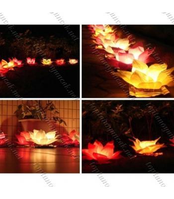 Toptan Nilüfer Su Feneri Water Lantern