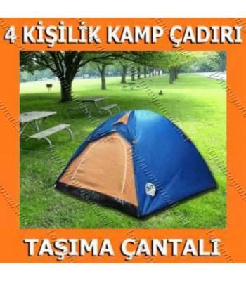 Toptan Kamp Çadırı Kolay Kurulumlu 4 kişilik