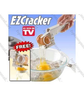 Toptan Ez Cracker Yumurta Kırma Ve Sarısını Ayıklama Makinesi