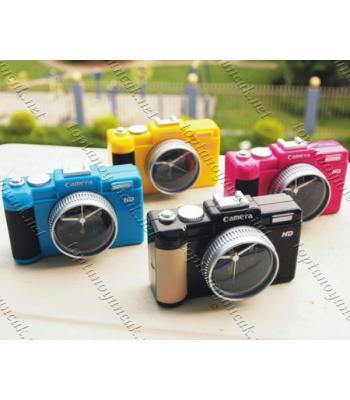Toptan Fotoğraf Makinesi Görünümlü Çalar Saat