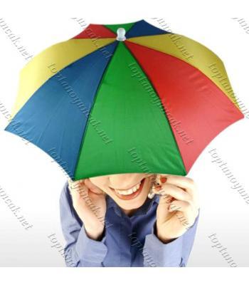 Toptan Kafa Şemsiyesi Şapka Şemsiye Kafaya Takılan
