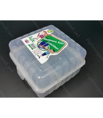Launch box çek bölmeli beslenme çantası yiyecek kutusu