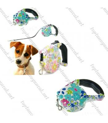 Toptan Pup Style Desenli Köpek Gezdirme Tasması
