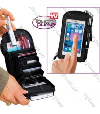Toptan touch purse akıllı telefon koruma çantası ve cüzdan