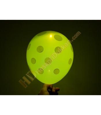 Led ışıklı balon 5 li paket