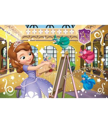 Lisanslı Prenses Sofia Puzzle 50 parça