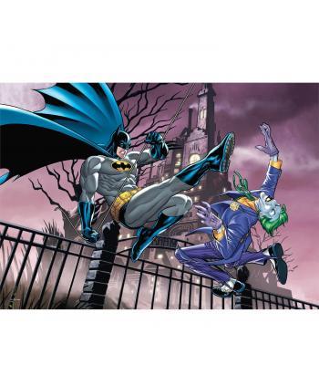 Toptan puzzle yapboz lisanslı 50 parça Batman