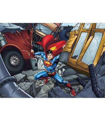 Toptan puzzle yapboz lisanslı 50 parça Superman