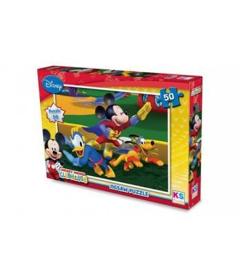 Lisanslı Mickey Mouse Puzzle 50 Parça