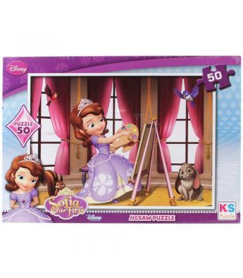 Toptan puzzle yapboz lisanslı 50 parça Prenses Sofia