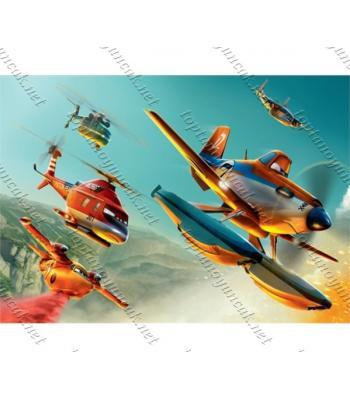 Toptan puzzle yapboz lisanslı 50 parça Uçaklar