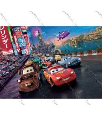 Toptan puzzle yapboz lisanslı 50 parça Cars