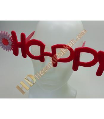 Parti gözlükleri Happy mesajlı