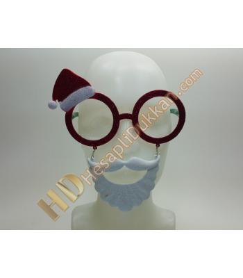 Şapkalı sakkallı gözlük