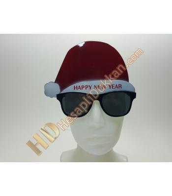 Şapkalı yılbaşı gözlük