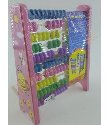 Eğitici oyuncak abaküs ahşap promosyon