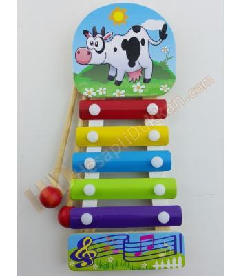 Mini ksilofon eğitici müzik oyuncağı