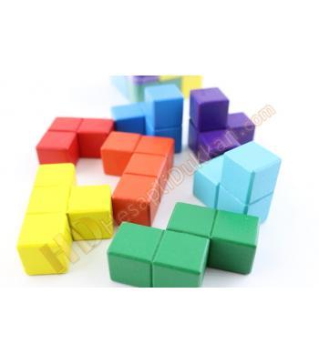 Tetris rubik zeka küpü