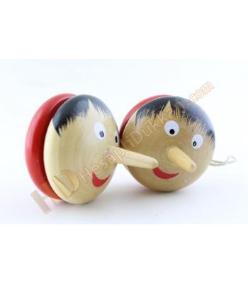 Pinokyo yoyo ahşap promosyon oyuncak