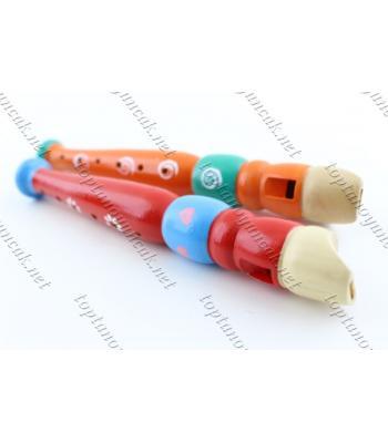 Ahşap mini oyuncak promosyon flüt