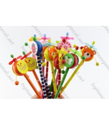 Promosyon ahşap oyuncaklı kalemler eğitici oyuncaklar