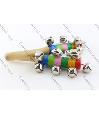 Promosyon ahşap oyuncaklar toptan eğitici parmak ziller