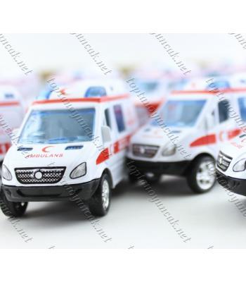 Promosyon oyuncak araba toptan ambülans 112 acil ucuz