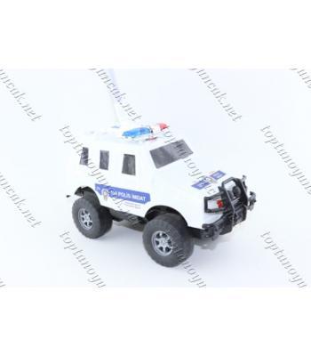 Promosyon direksiyonlu polis arabası toma