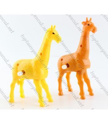 Kurmalı zürafa oyuncak toptan