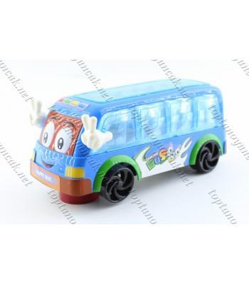 Toptan ışıklı otobüs oyuncak promosyon