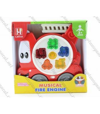 Promosyon oyuncak eğitici itfaiye arabası