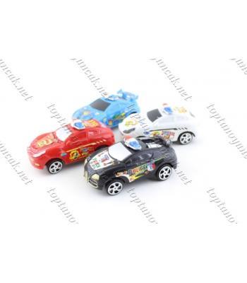 Toptan promosyon oyuncak çek bırak araba dörtlü paket