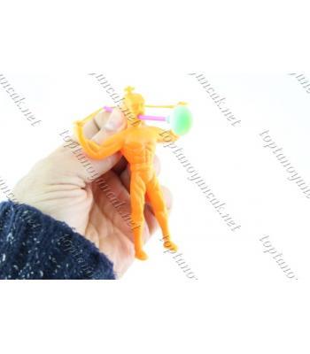 Promosyon oyuncak vantuzlu okçu adam toptan
