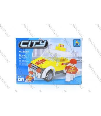 Toptan 71 parça lego oyuncak taksi
