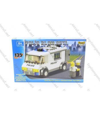 135 parça lego polis zırhlı araç