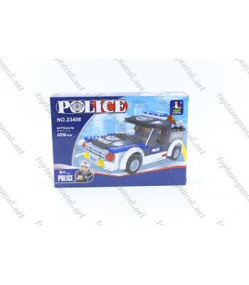 105 parça polis kamyonet lego