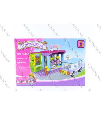 125 parça otobüs durağı lego