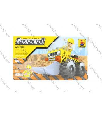 60 parça lego kepçe iş makinesi