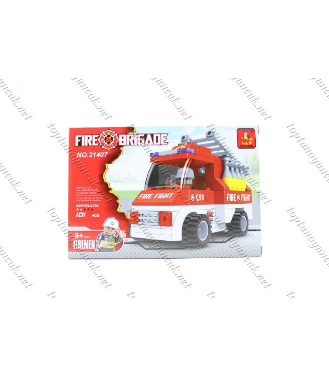 101 Parça Itfaiye Arabası Yangın Savaşçısı